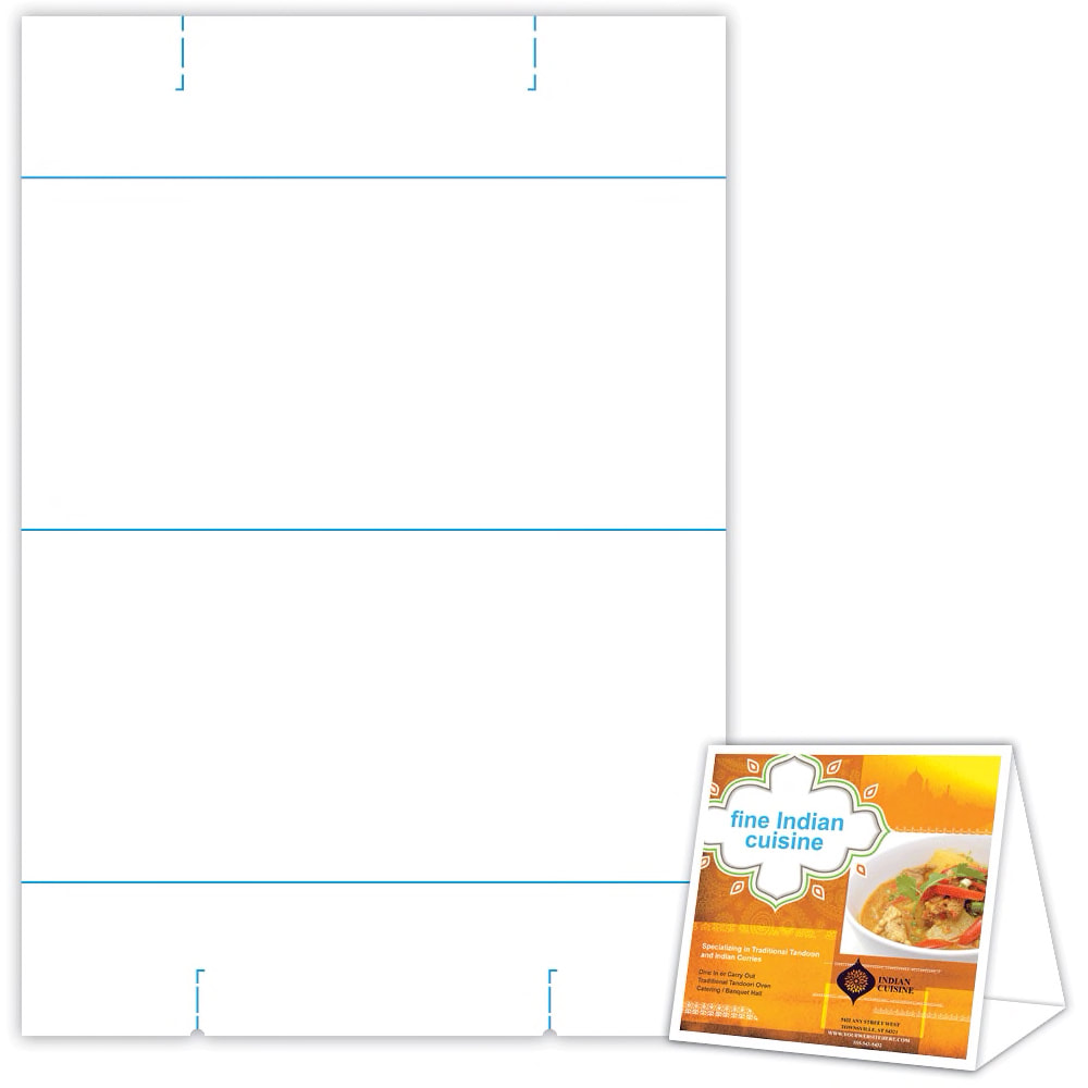 graphic relating to Printable Table Tents identified as Desk Tent 6\